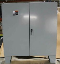 Type 12 Cooper B Line Double Door Floor Standing Steel Enclosure 727212-12FD