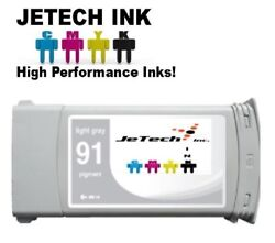 Hp91 Compatible Pigment 775ml Ink Cartridge For Designjet Z6100 - Light Gray