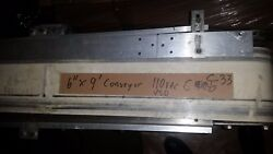 Stainless Steel And Aluminum Frame Belt Conveyor With White Belt 6 X 9and039