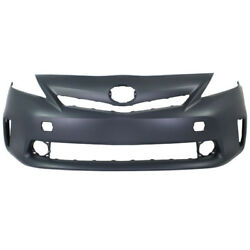 Capa For 12-14 Prius V Front Bumper Cover Assembly W/led Headlights To1000387