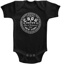 Cbgb And Omfug Home Of Underground Rock New York Baby Romper Onezies 6-24 Month