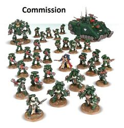 Sons Of The Lion Battalion Detachment Dark Angels Superbly Painted 40k