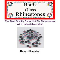 Hotfix Rhinestones Glass Crystals For Sewing Scrapbooking Crafts - 10 For 15