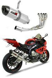 S 1000 Rr Exhaust Hp1 Carbon Dominator Racing Silencer Manifold 2009 2010 2011