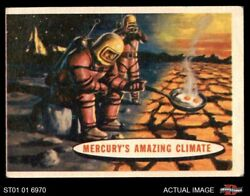 1957 Topps Space #77 Mercury's Amazing Climate  VG