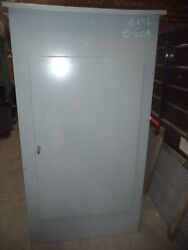 New/ Scratches: Large GE Locking Electrical Enclosure Exterior 76