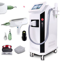 Yag Laser Tattoo Removal ND Q Switch Pigment Reduction Skin Care Beauty BD-LS CE