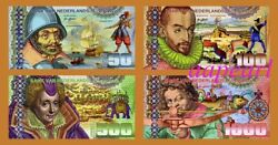 Set Sri Lanka Banknotes Paper Money Brand New Collections Uncirculated 4 Pcs