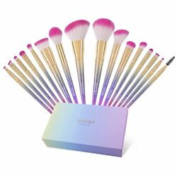 16 Pcs Makeup Brushes Fantasy Cosmetic Set Foundation Eyebrow Concealer Lipstick $29.81