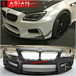 For Bmw 6 Series F06 Wide Body Kit M6 Pd-style 2011-2017 For Gran Coupe