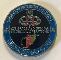 Oef Regional Command East 82nd Airborne Cj3 Space And Special Technical Ops
