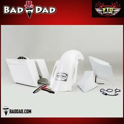 Bad Dad Summit Series Complete Kit, Bags, Fender, Side Covers 2009-2013 2 Cutout