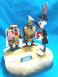 A/p Warner Bros. Taz She Devil And Bugs Wedding Marriage Direct From Ron Leeand039s