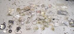 Large Assorted Box Omc Evinrude Mercury New Seal Kits Used Outboard Boat Parts.