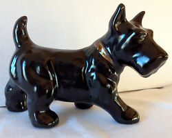 Ceramic Scottish Terrier Dog Figure