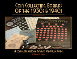 Coin Collecting Boards Of The 1930s And 1940s Catalog Value Guide Book New Gift Us