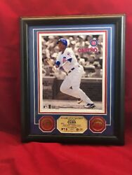 Chicago Cubs Starlin Castro Limited Photo Gold Coins Highland Mint Mlb Ws14