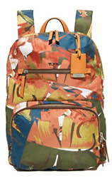 Tumi HALLE BACKPACK Luggage Laptop Banana Leaf Print 484758BLP $295