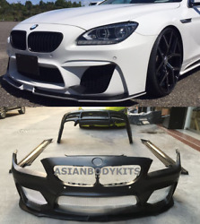 For Bmw 6 Series F06 Bodykit W-style For Gran Coupe 2011-2017