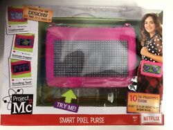 Project Mc2 Smart Pixel Purse Pink Customizable Moving Images And Text Nib