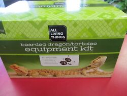 NEW!!  ALL LIVING THINGS Bearded Dragon and Tortoise Equipment Kit - ALT12294