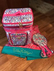 Lilly Pulitzer 100% Authentic Limited Edition Complete Beach Cooler NEW! RARE!