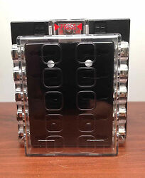 Marine 10 Gang Quick Connect Terminal Blade Auto Fuse Panel Holder With Bolts