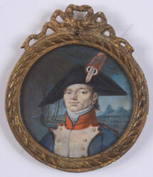 Non-commissioned Officer Of French Republican Army Miniature 1795/1800