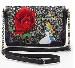 FS ANNA SUI x Alice in the Wonderland Design Shoulder Bag From Japan NEW
