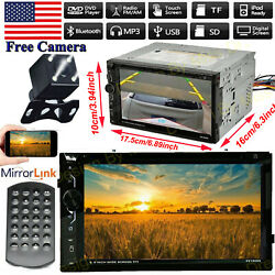 For Ford F-250 F-350 Super Duty 2din 6.2and039and039 Car Stereo Dvd Cd Radio Playerandcamera