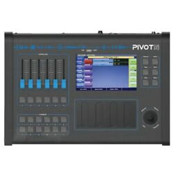 Pivot Cue 512 Pro Dmx Lighting Console / Joystick 7andrdquo Touch Screen Touch Faders