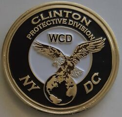 Usss Us Secret Service Potus Wcd Clinton Presidential Protective Detail Ny And Dc