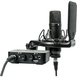 Rode AI-1 Complete Studio Kit Home Recording w NT1 Mic USB Interface Cables