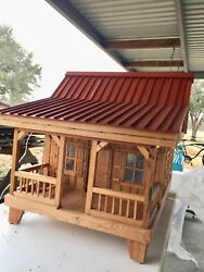 Cypress Acadian Style Doll House, Miniature Dolls, House, Lights, Kids, Antique