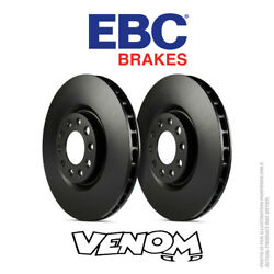 Ebc Oe Front Brake Discs 316mm For Ford Mustang 5th Gen 4.6 Gt 05-10 D7255