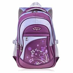 Vbiger Girl's & Boy's Backpack for Middle School Cute Bookbag Outdoor Daypack 1