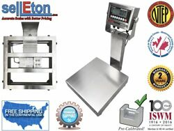 Op-915ss Ntep / Legal For Trade Stainless Steel Washdown Bench Scale