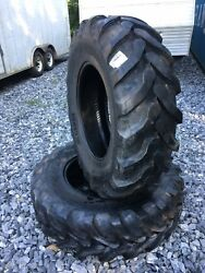 2 New Camso Bhl 532 16.9-28 Backhoe Tires R4 - 12 Ply - 16.9x28