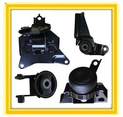 4 Motor Mounts For 2006-2011 Toyota Yaris 1.5l L4 Auto Engine And Trans 07 08 09