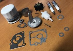 Annual Service Parts Kit 15hp 20hp 4stroke Mercury Mariner Outboard + Thermostat