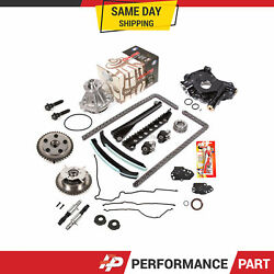Timing Chain Kit Vct Selenoid Cam Phaser Oil Water Pump For 07-08 Ford 5.4