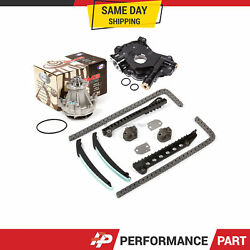 Timing Chain Kit W/o Gears Water Oil Pump For 03-04 Ford F150 F250 F350 E150 5.4