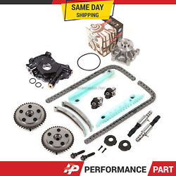 Timing Chain Kit Vct Selenoid Cam Phaser Water Oil Pump For 05-09 Ford Mustang