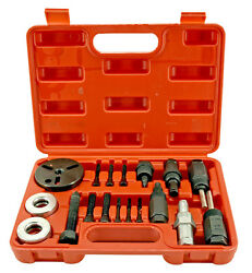 NEW 18pc AC AC Compressor Clutch Hub Remover  Installer PULLER PLATES Tool Kit