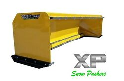 10and039 Xp30 With Pullback Bar Snow Pusher Boxes Skid Steer Bobcat Local Pick Up