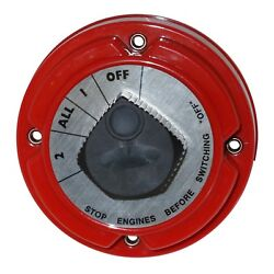 Pro Dual Battery Selector Switch For Fishing Boat Rv Semi 1 2 On Off All