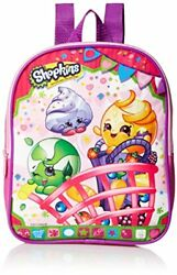 New Original Shopkins Girls 10 Inch Mini Backpack with Coin Purse Pink For Kids