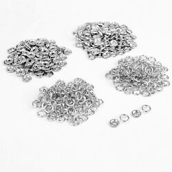 9.5mm Silver Nickel Free Press Button Stud Snap Fasteners Popper For Shirt Jeans