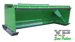 6and039 Xp24 John Deere Snow Pusher W/ Pullback Bar - Tractor Loader - Local Pick Up
