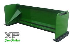 7and039 Xp30 John Deere Snow Pusher - Tractor Loader - Local Pick Up
